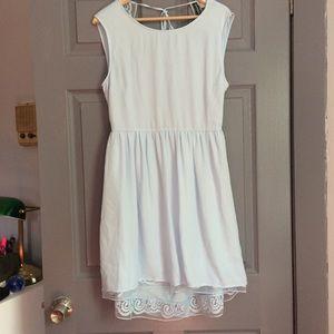 Blue H&M Backless Dress